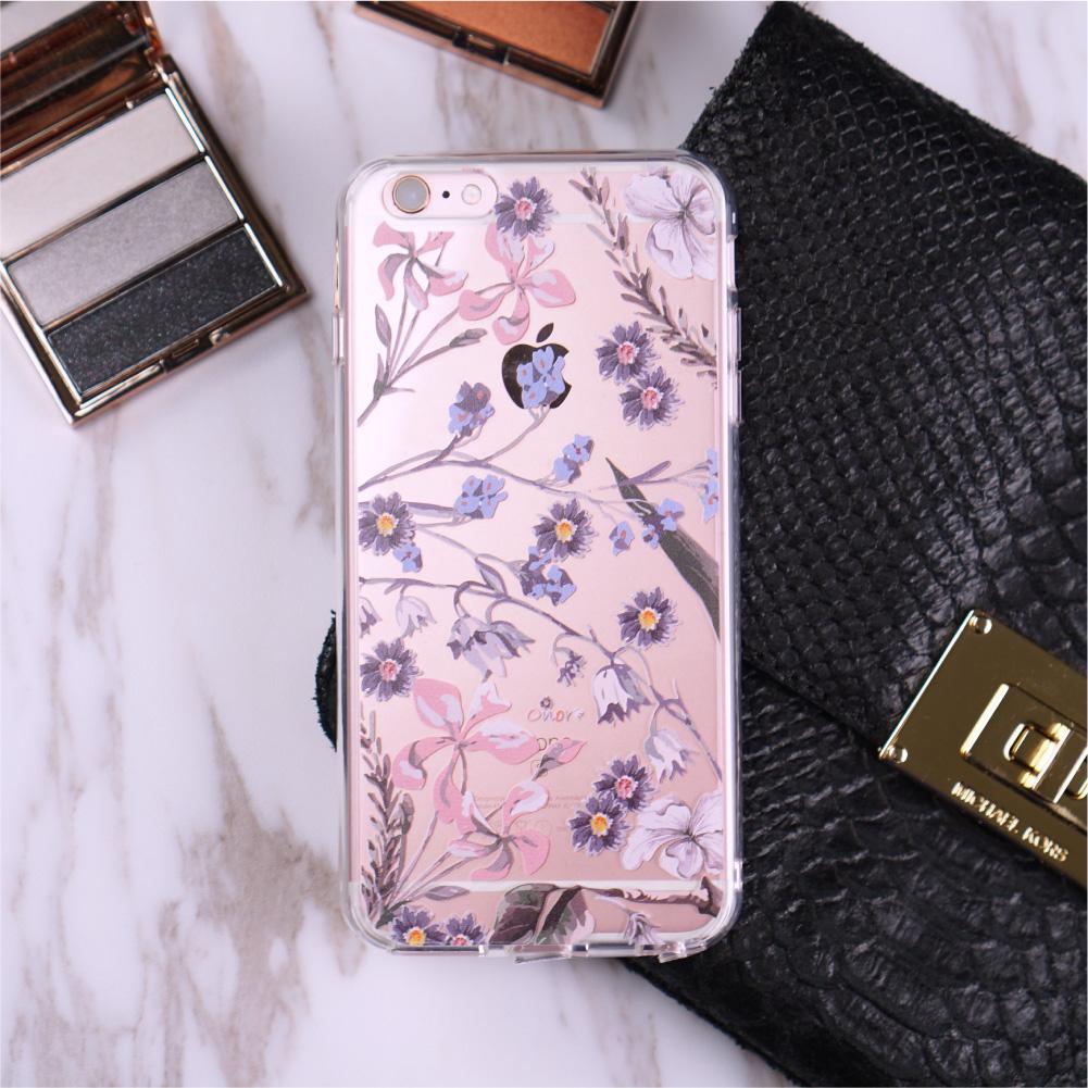 Flora【Larkspur Garden】Crystals Phone Case-1