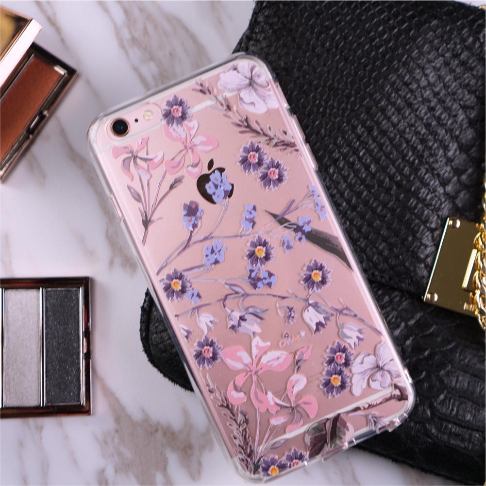 Flora【Larkspur Garden】Crystals Phone Case-4