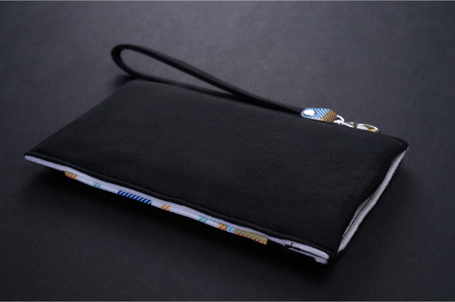 Onor Tartan Fever cell phone pouch-8